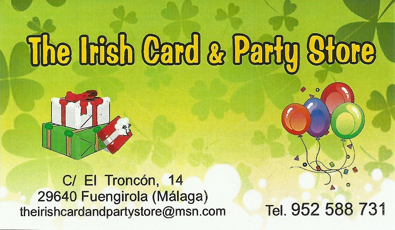 The Irish Card & Party Store