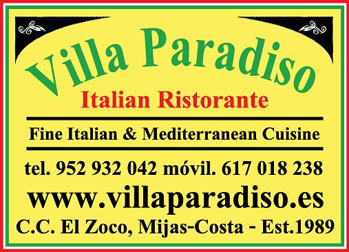 Villa Paradiso Italian Ristorante