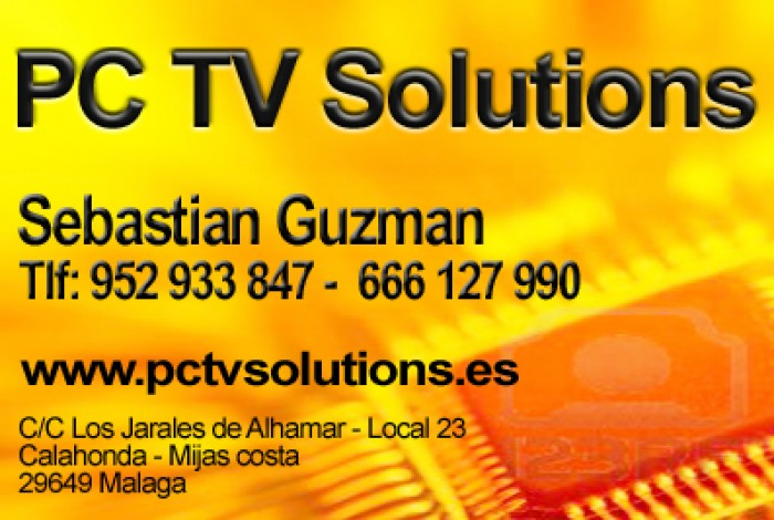 PC- TV Solutions in Mijas