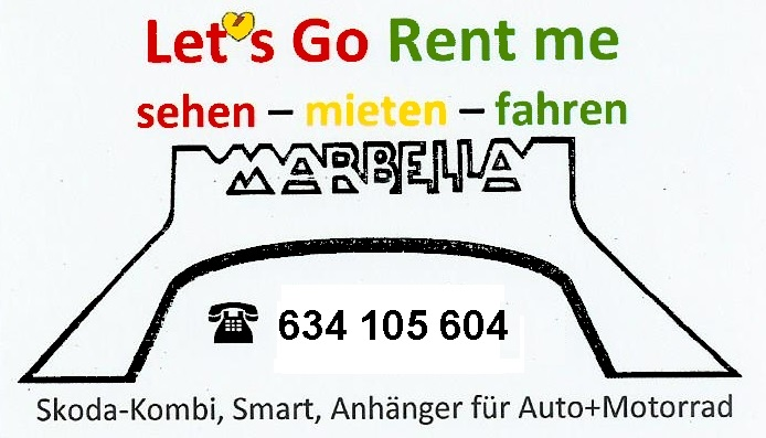 Autovermietung in Mijas Costa – Lets Go Rent Me