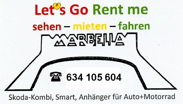 Lets Go Rent Me - Autovermietung Mijas